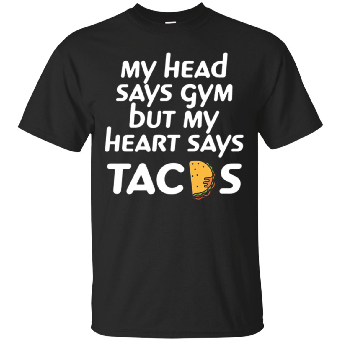 Tacos gym t-shirt funny humor workout athletic fitness shirt