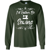 Image of I'd Rather Be Sewing T Shirt - Unisex Sewing Machine Tee