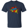 Image of Valentine's Day Shirt For Boys Awesome Superhero Shirt