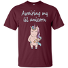 Image of Awaiting My Lil Unicorn Mom's Pregnancy Announcement T-Shirt