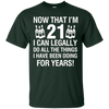 Image of 21th Birthday Shirts | Now That I'm 12 I Can Legally T-shirt