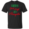 Image of I Need A Silent Night And A Margarita Christmas Party Shirt