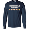 Image of Anti Trump T-Shirt History Of US President List Clown Face