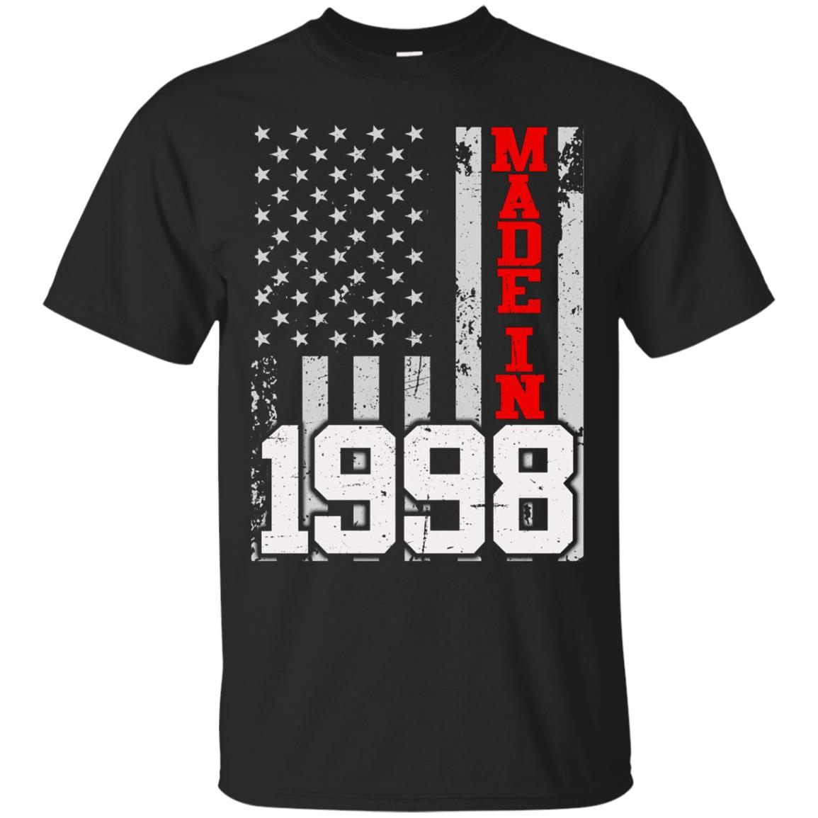 Made In Legends Born In 1998 Gift 20 Years Old Being Vintage