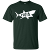 "Image of Family T-Shirt ""Papa"" Shark Matching"