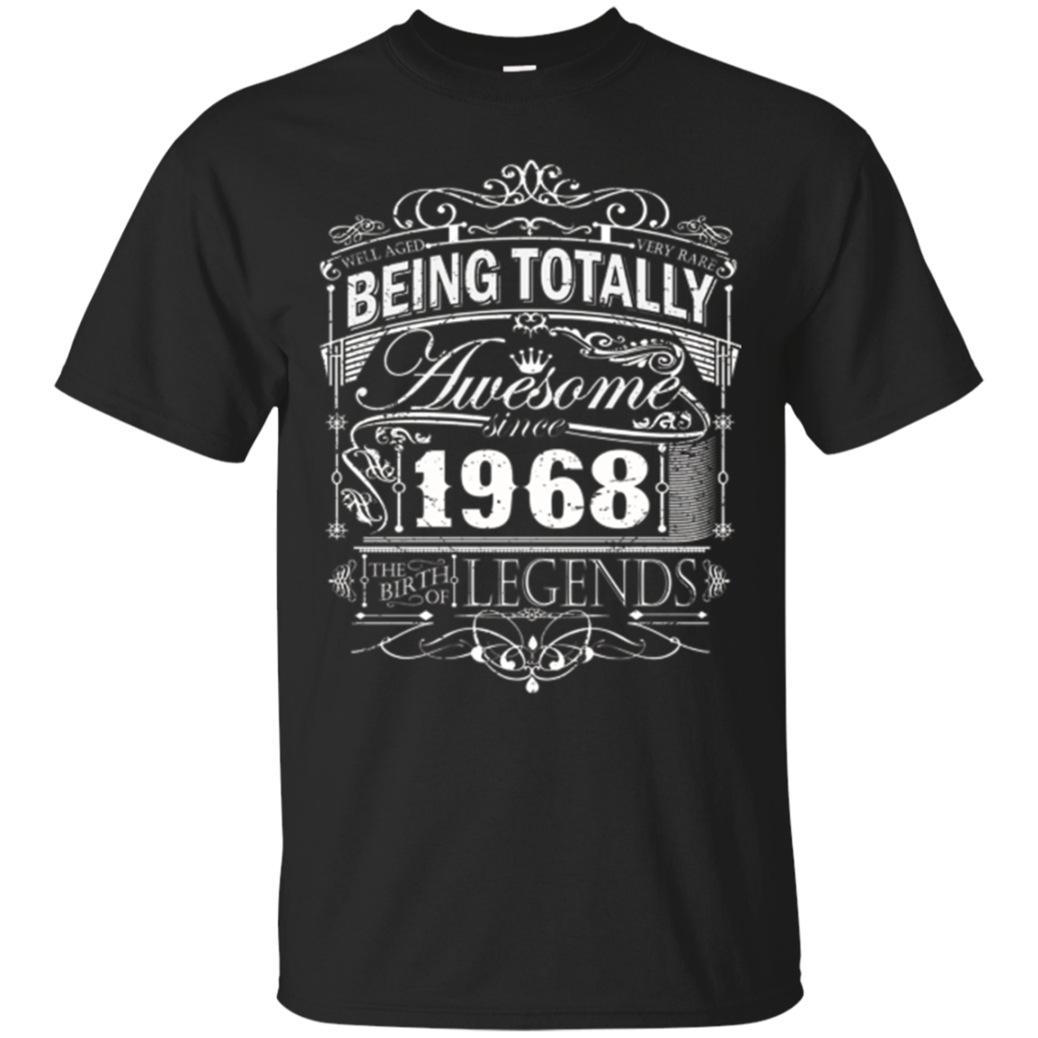 Awesome Since 1968 49th Birthday T Shirt 49 Years Old