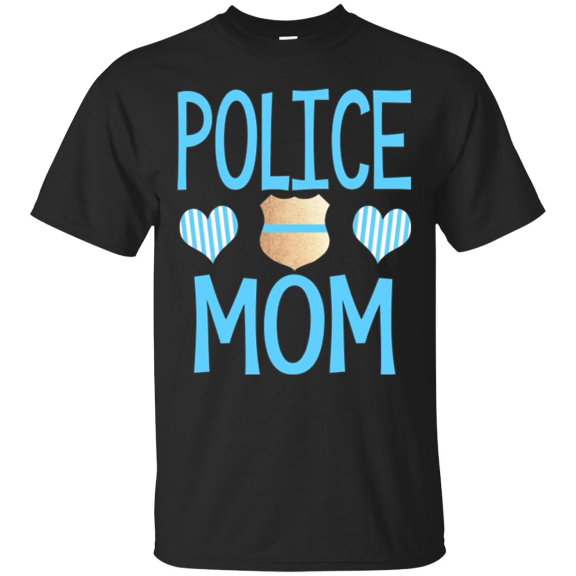 Police Mom Shirt Police Officer's Mom Law Enforcement Gift