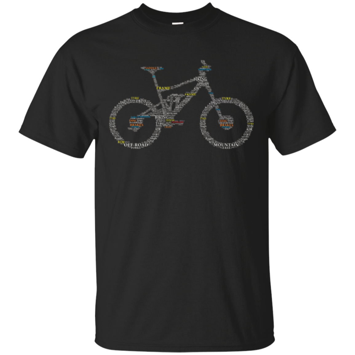Bicycle Anatomy Cycling T-Shirt
