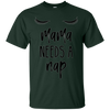 Image of Mama Needs A Nap Funny Mom T-shirts for Women
