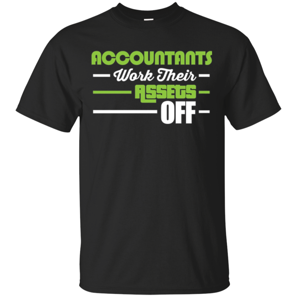 Funny Accountant CPA Long Sleeve Shirt Gift - Assets Tax Pun