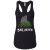 Image of Bigfoot, Sasquatch, Yeti, I Believe Tshirt, Silhouette