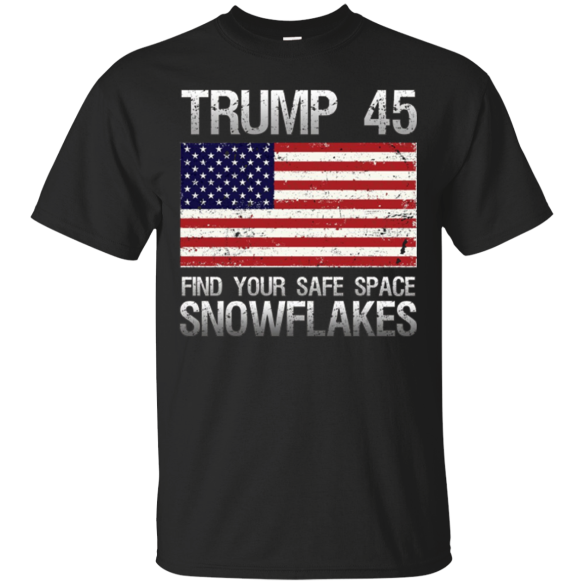 Trump 45th president | Trump Support American Flag T Shirt