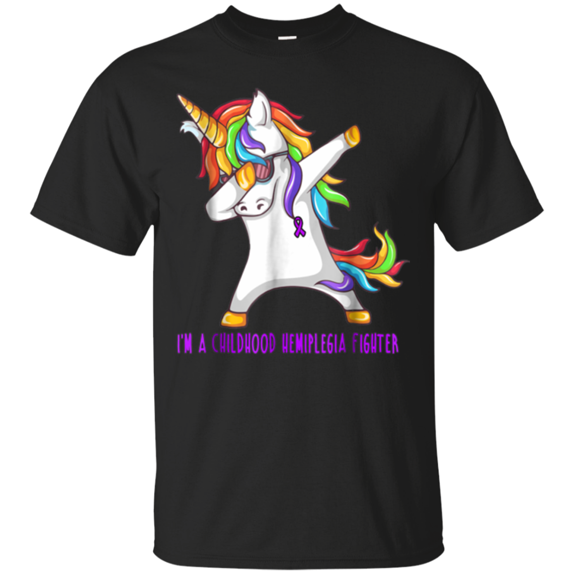 Unicorn Childhood Hemiplegia Awareness Shirt