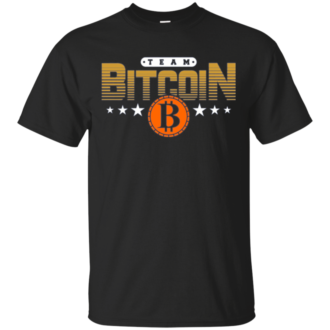 Bitcoin BTC - Team Bitcoin Long Sleeve Shirt