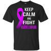 Image of Keep calm and fight HODGKIN'S LYMPHOMA t-shirt