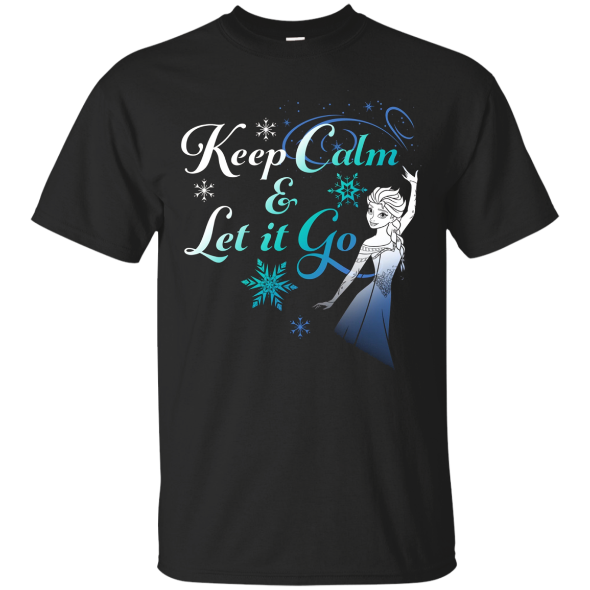 Disney Frozen Elsa Keep Calm & Let It Go Graphic T-Shirt