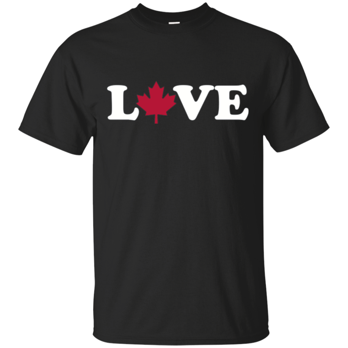 Canada maple leaf love T-Shirt