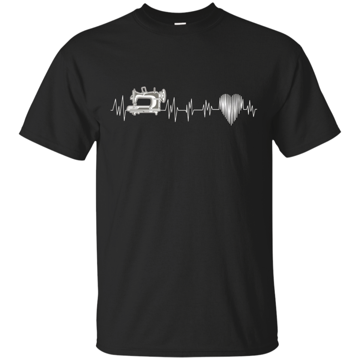 Womens Men heartbeat Hobbies Sewing Gift Idea Shirts