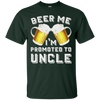 Image of Beer Me I'm Promoted to Uncle - Baby Announcement Shirt