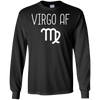 Image of Virgo AF Funny Zodiac Sign T-Shirt