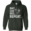 Image of Bait Cast Reel Repeat Fishing T-Shirt