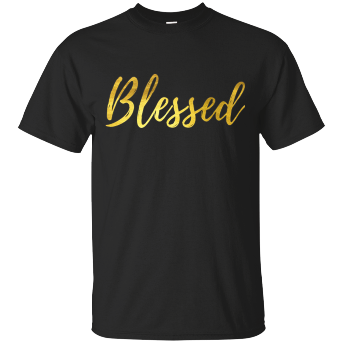 Blessed Gold T-shirt