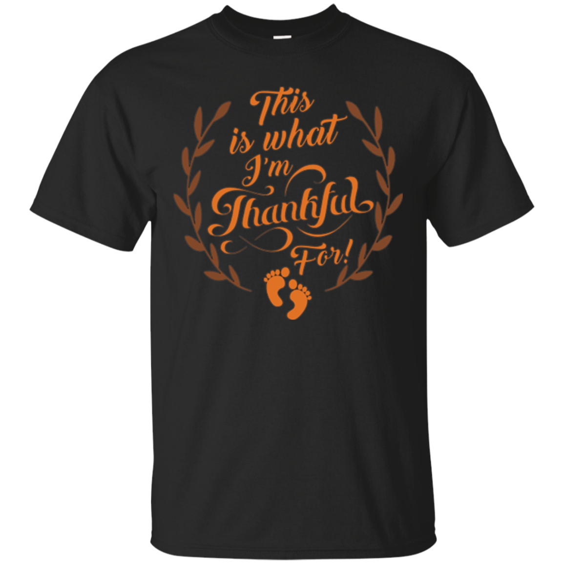 This Is What I'm Thankful For T-shirt Maternity Pregnant Mom