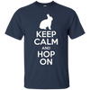 Image of Keep Calm And Hop On Rabbit Bunny T-Shirt