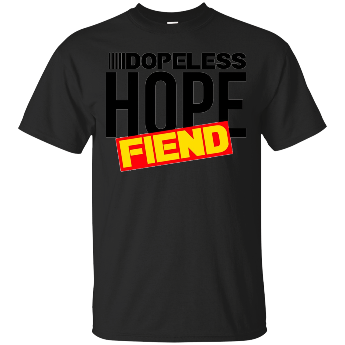 Dopeless Hope Fiend Celebrate Recovery T Shirt Rehab NA AA