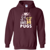 Image of Just A Girl Who Loves Pugs - Pug Gifts For Girls