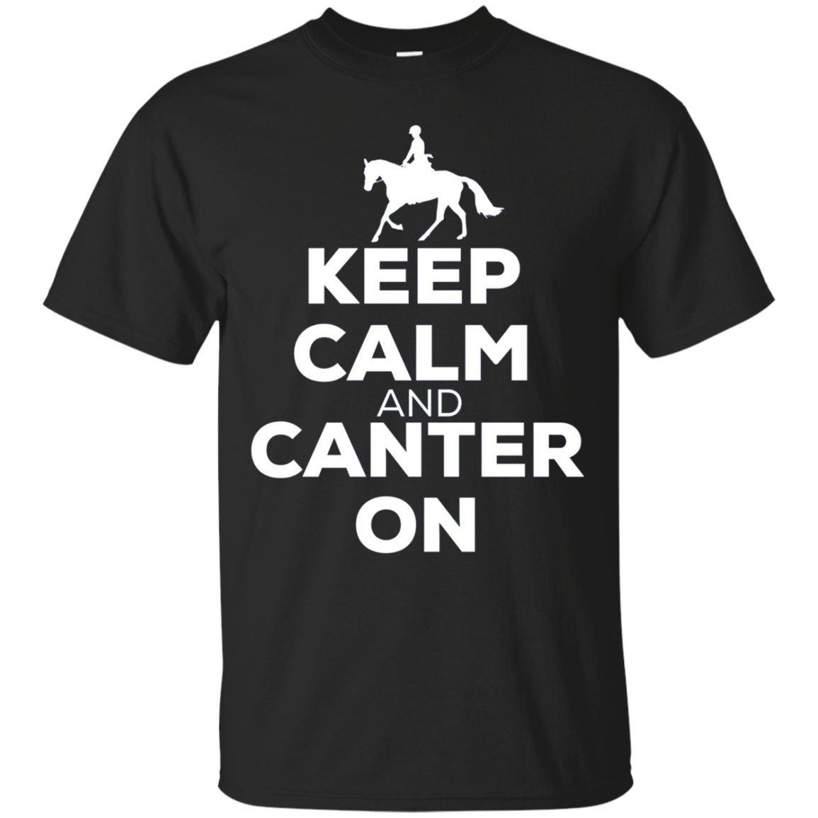 Keep Calm And Canter On - Horse Riding Long Sleeve Shirt