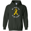 Image of My Brother Is My Hero Childhood Cancer Awareness T Shirt