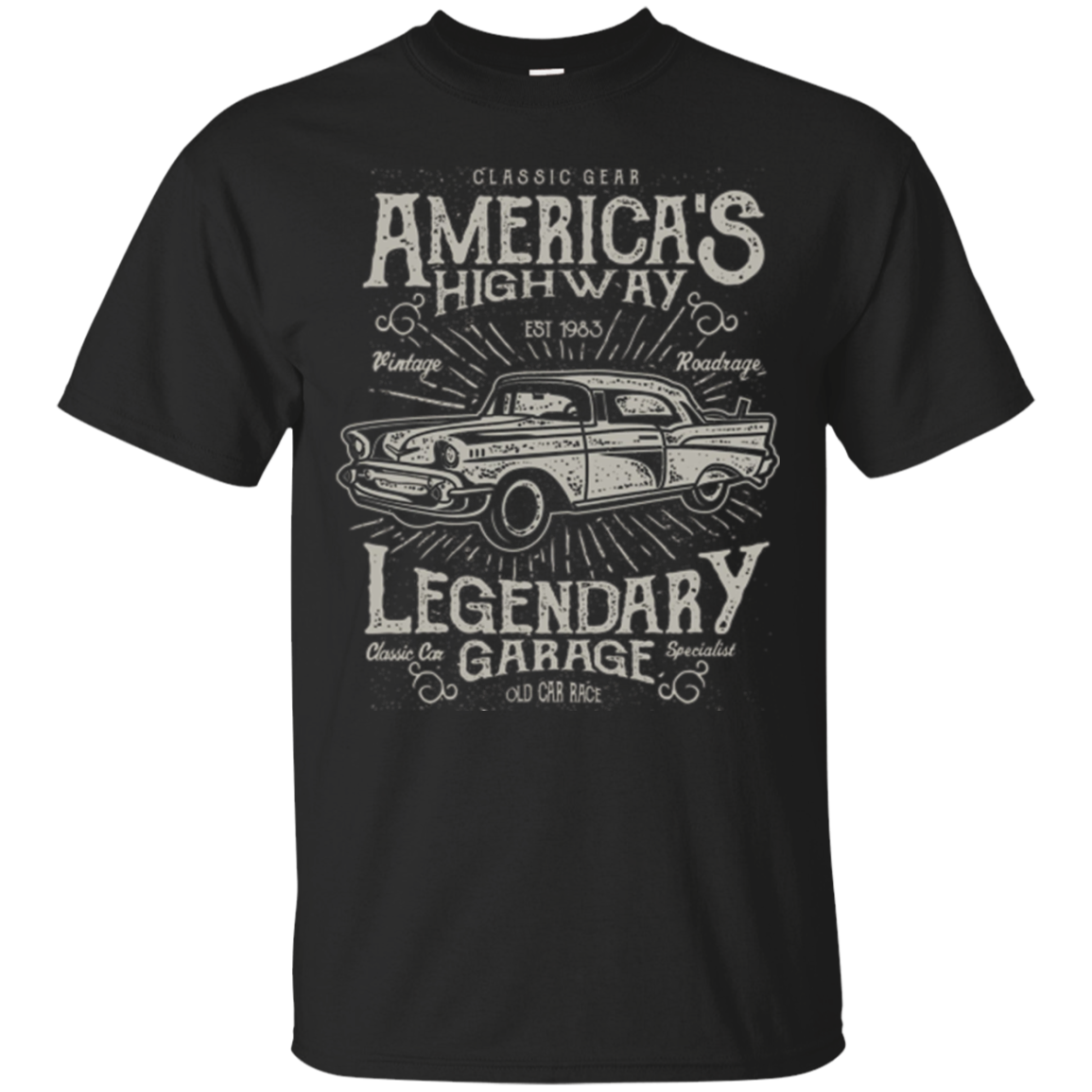 Classic Car T-Shirts - Awesome Old Vintage Cars Tee Shirt
