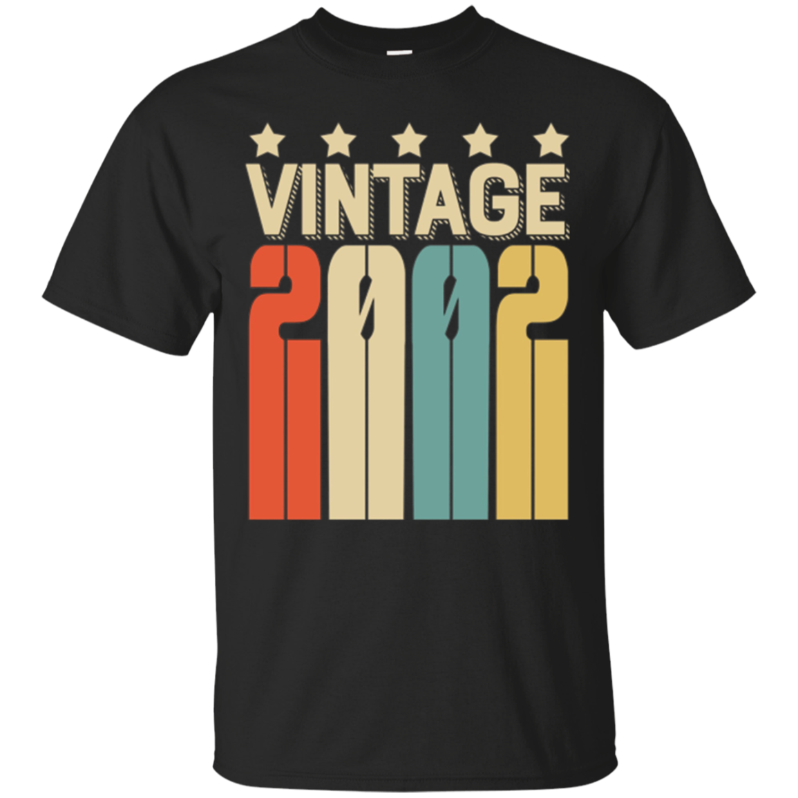 Vintage Retro Legends Born In 2002 - 15th Gift 15 Years Old