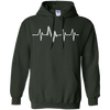 Image of Bike Heartbeat Pulse Shirt - Funny Bike Shirt
