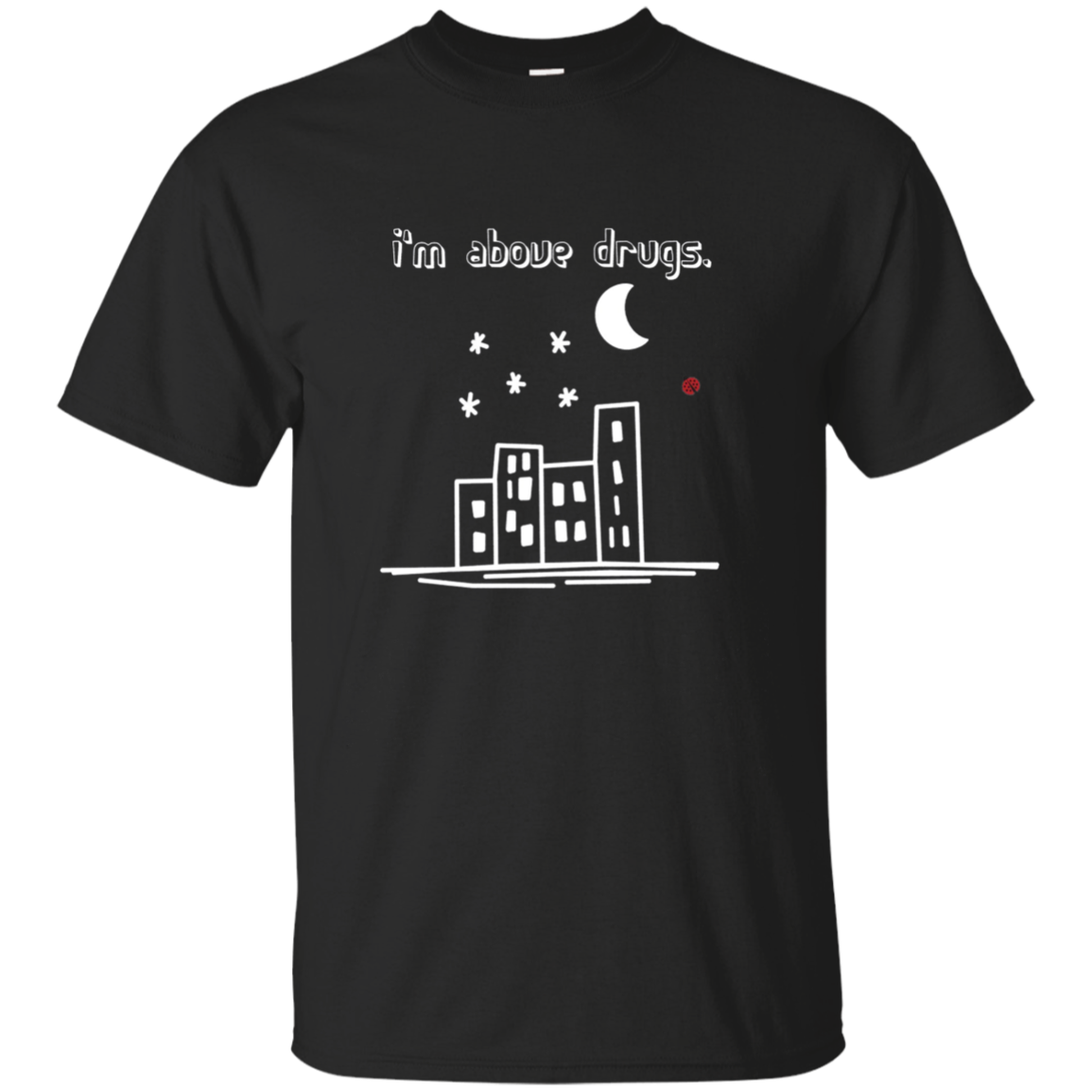 BAD Cityscape Long Sleeve Tee, Drug Prevention Apparel