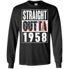 Image of Straight Outta Vintage USA 1958 59th Birthday Gifts 59 years