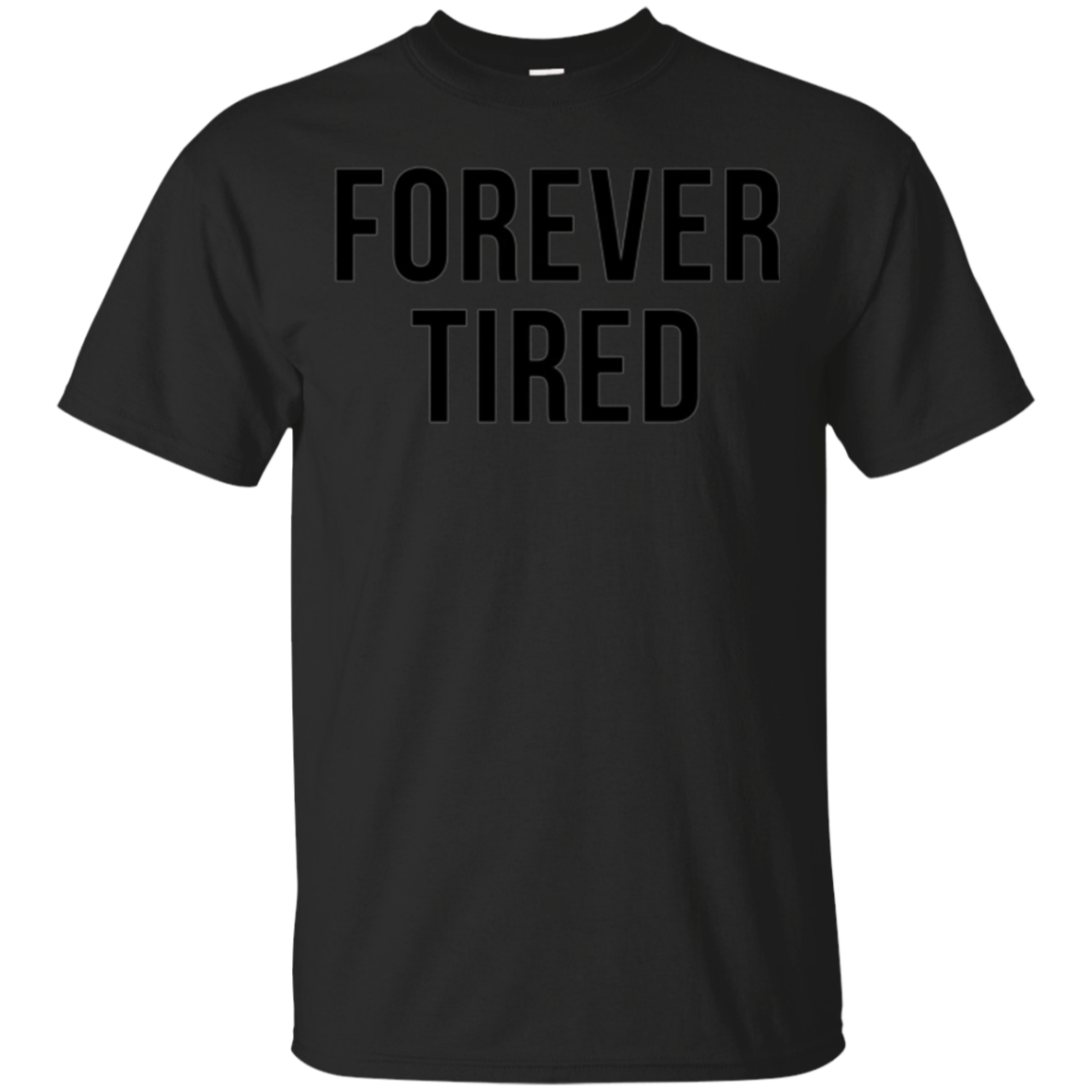Forever Tired Funny Mommy New Parents Hipster Puns Tee Shirt