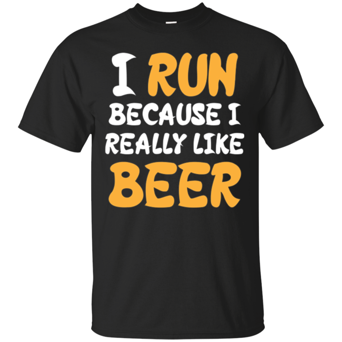I Run Because I Really Like Beer Workout Long Sleeve