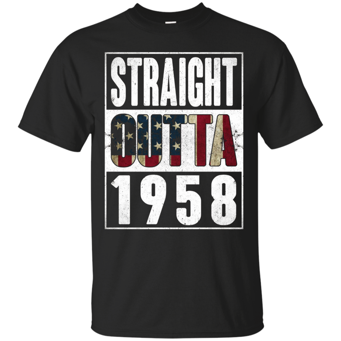 Straight Outta Vintage USA 1958 59th Birthday Gifts 59 years