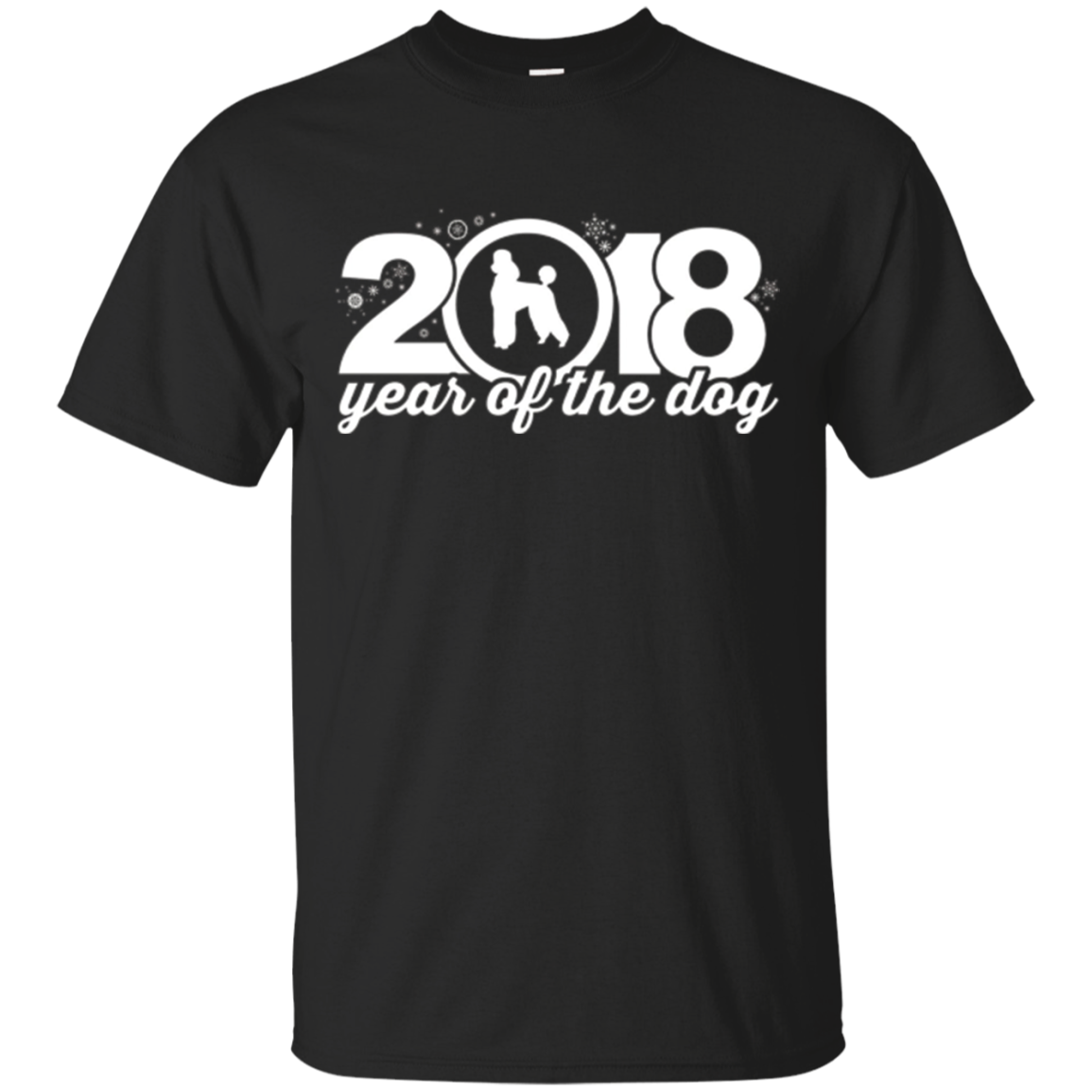 Poodle 2018 Year Of The Dog New Year T-Shirt v2