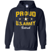 Image of Proud U.S. Army Retired T-Shirt