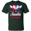 Image of Pink or Blue Auntie Loves You Baby Announcement Tee Funny
