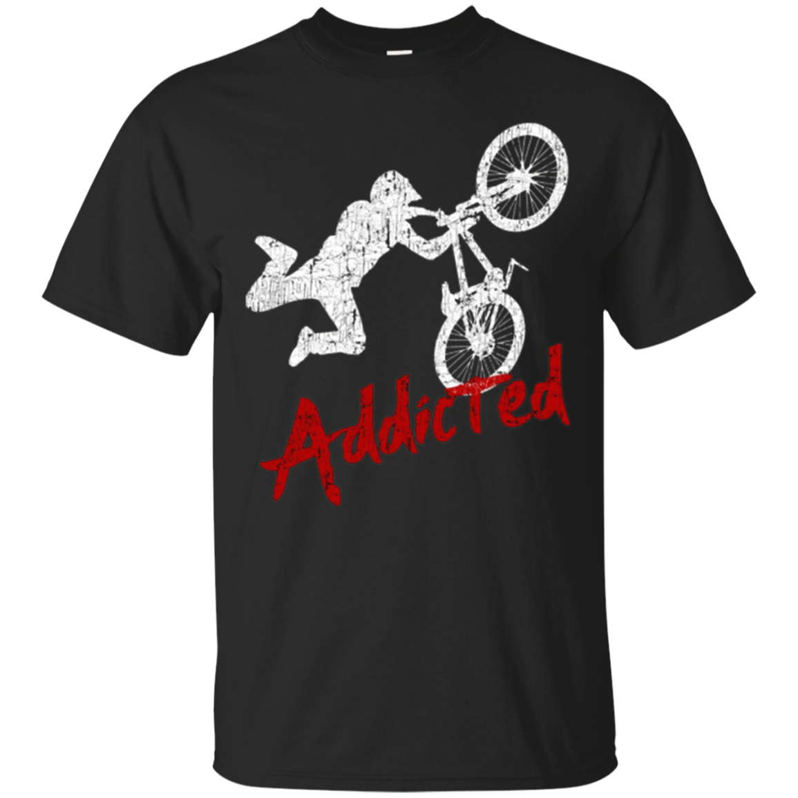 Bmx Addicted Funny Rider Shirt Bike Lover Gifts Freestyle