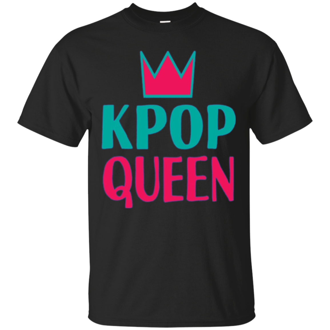 Kpop Queen Crown Long Sleeve Tshirt Korean Music Lover Fan