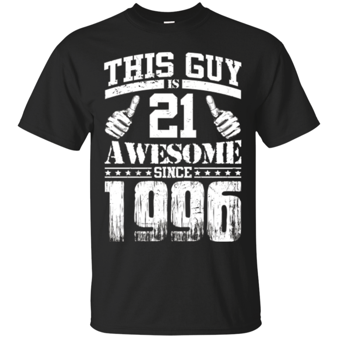 Vintage Born in 1996 21st Birthday Gifts 21 This Guy Awesome