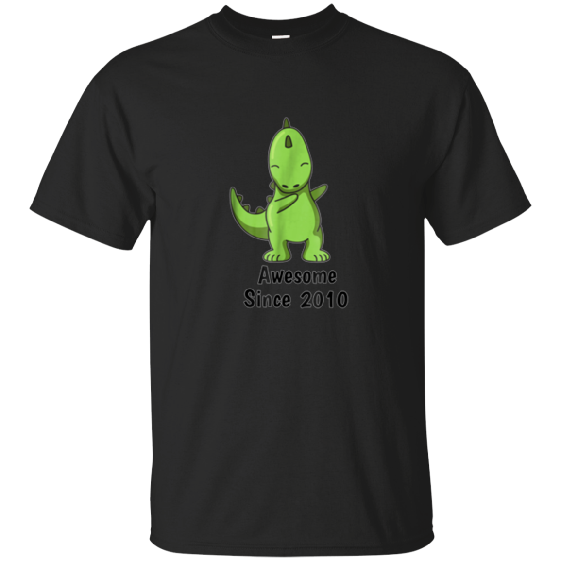 Dabbing Dino Shirt Awesome since 2010 8th Birthday T-Shirt