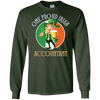 Image of One Proud Irish Accountant LS Shirt Irish Gifts Paddy's Day