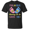 Image of Pink or Blue Mommie To Be Baby Announcement Tee