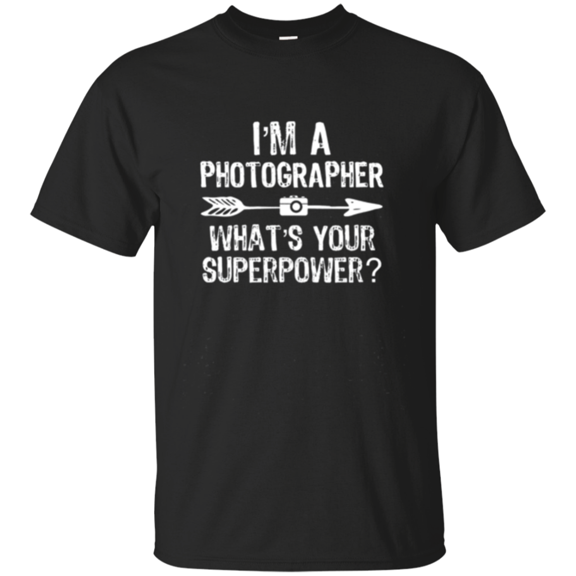 I'm a Photographer What's Your Superpower Long Sleeved Shirt